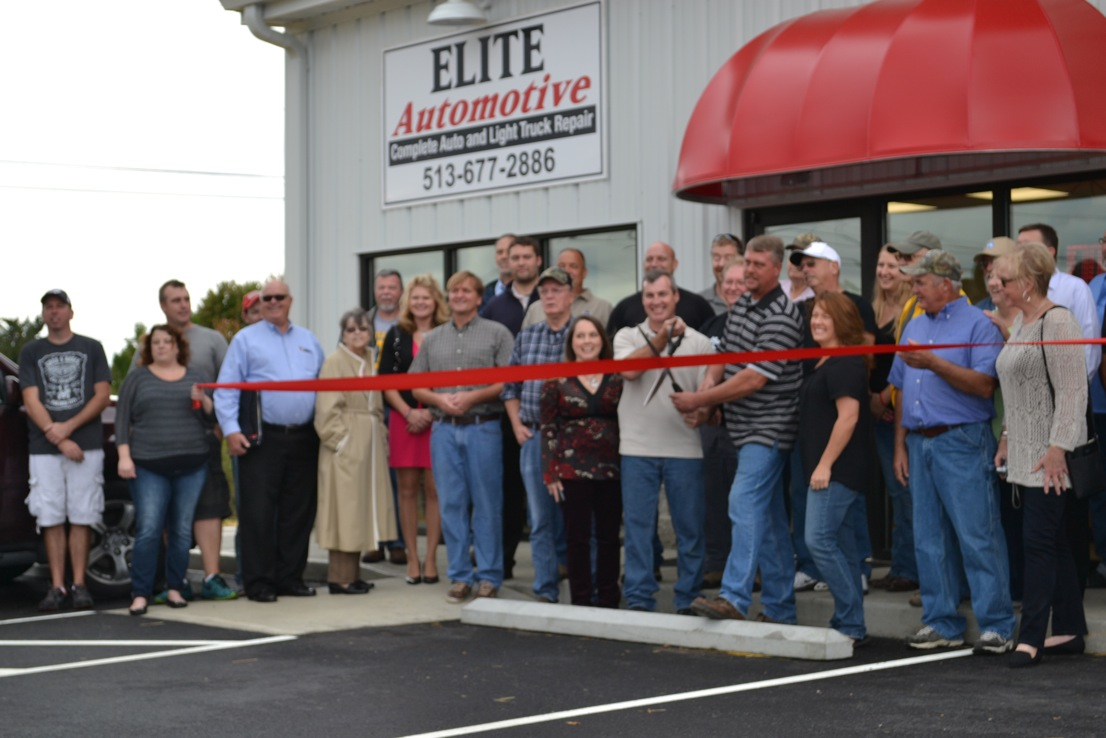 Ribbon Cutting For Elite Automotive